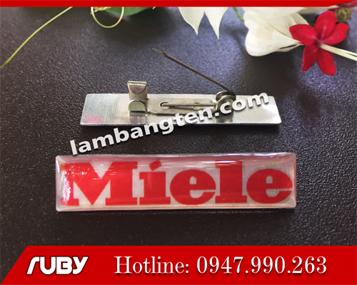 In logo Miele